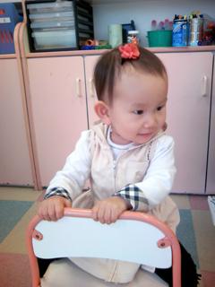 幼児教室の椅子