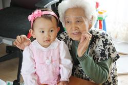 おばあちゃんと1