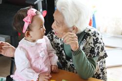 おばあちゃんと2