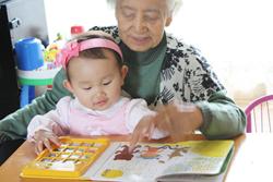 おばあちゃんと3