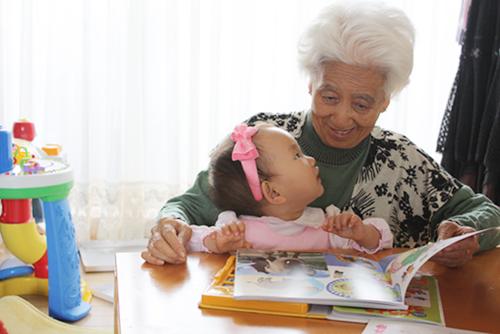 おばあちゃんと5