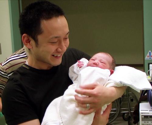 パパhimeの誕生に涙と笑顔~最高の宝物~