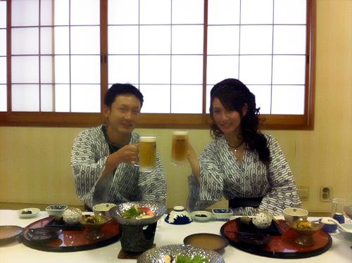 鳥取_旅館夕食1
