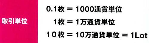 FXの単位002