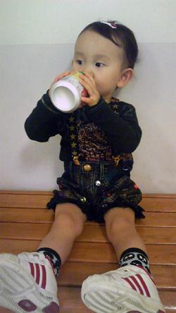 ジュース美味しい(*^^)